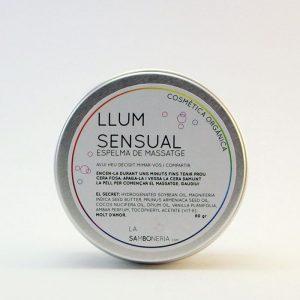 Luz  vela de masaje sensual
