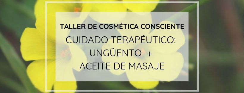 Taller de Cosmetica Terapeutica