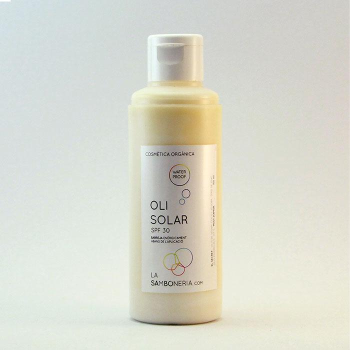 Oli protecció Solar Bifàsic