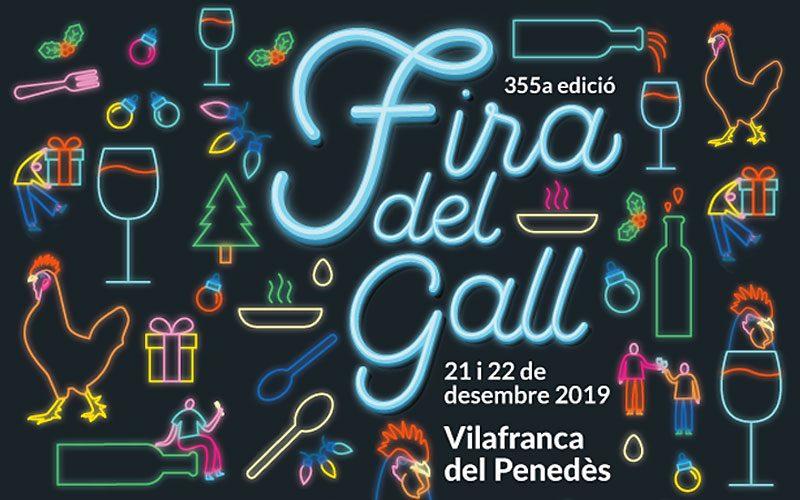 Fira del gall de Vilafranca del Penedès 2019