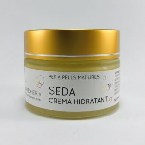 crema facial seda piel seca madura